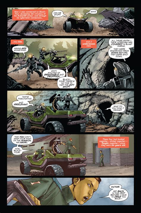 Halo Blood Line Español Comic