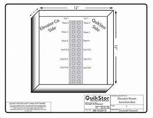 Elevator Junction Box Diagram  U2013 Quikstor Support Knowledgebase