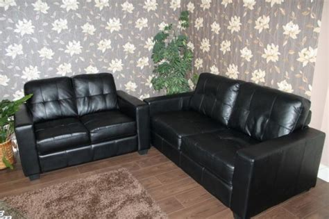 nice sofas for sale two nice black sofa for sale in blarney cork from oscar2905