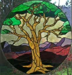 Life Stained Glass Patterns Trees