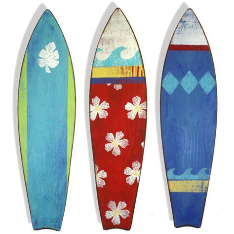 Surf Decor - surf board silhouettes wall