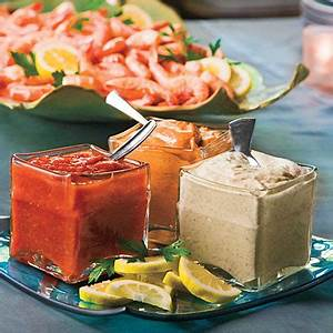Minute Light Nutrition Peel And Eat Shrimp With Dipping Sauces Recipe Myrecipes