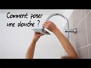 Pose barre de douche doovi for Comment poser une porte de douche