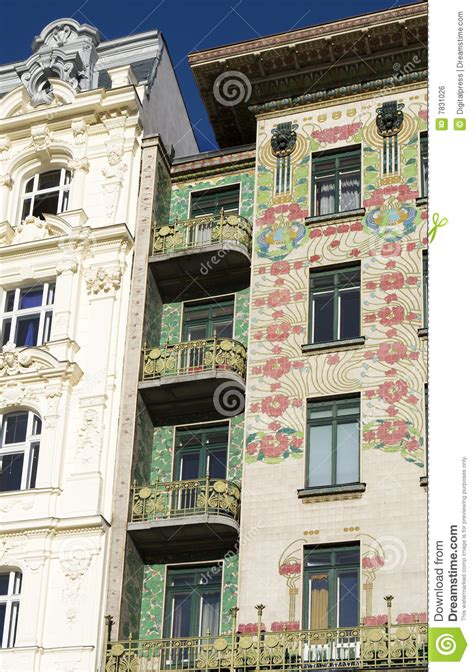 The Nouveau Of Otto Wagner Viennese Architecture Nouveau Otto Wagner Stock Photo
