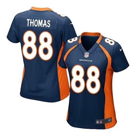 Demaryius Thomas Denver Broncos Women Game Alternate