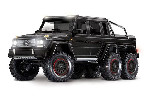 Select a preferred set of wheels today. Traxxas TRX-6 1/10 6x6 Trail Crawler Truck w/Mercedes-Benz ...