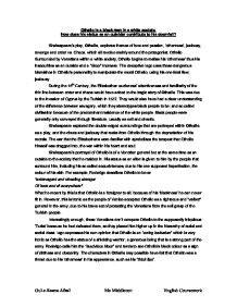 Othello Literary Essay Teenage Smoking Essay Othello Literature