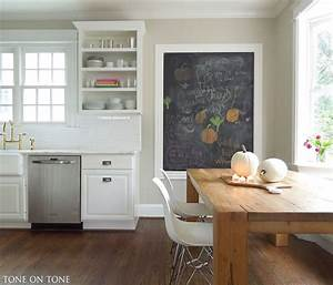 cabinets painted bm simply white wall behind island is With kitchen colors with white cabinets with wall bedroom stickers