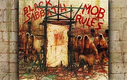 Sabbath Album Rock Metal Mob Rules Wallpapers