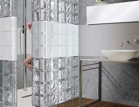 glass block bathroom ideas glass block wall design ideas adding unique accents to eco homes