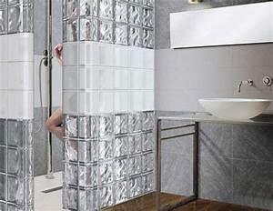 Glass block wall design ideas adding unique accents to eco for Glass block ideas