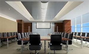 Design of suspended ceiling conference room Interior Design