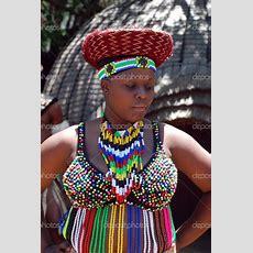 Zulu Woman In Her Zulu Traditional Attire!! South