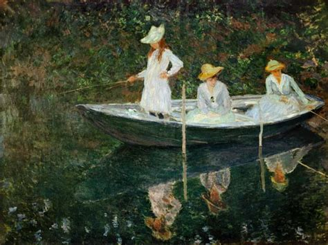 Ny Boat Show Promo Code by The Boat At Giverny Claude Monet As Print Or