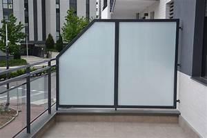 Balcon Pare Vue : sodiver r alise pour vous des brise vue balcon pare vue ~ Premium-room.com Idées de Décoration
