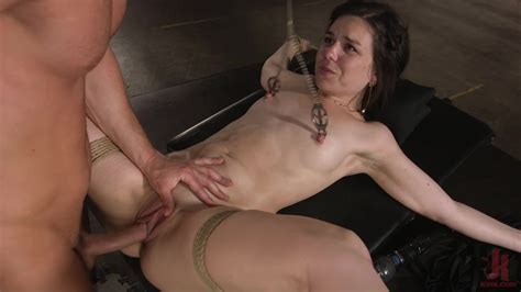 Excellent Bdsm Porn And Real Orgasm While She Plays