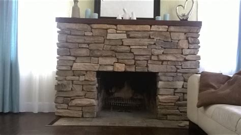 made rock for fireplaces install veneers brick fireplace diy