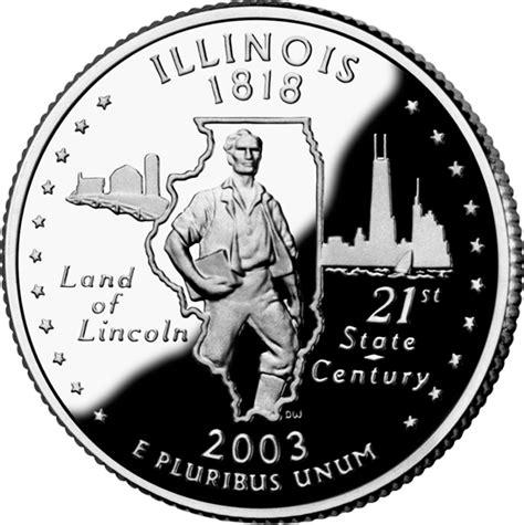 illinois state quarter statescom