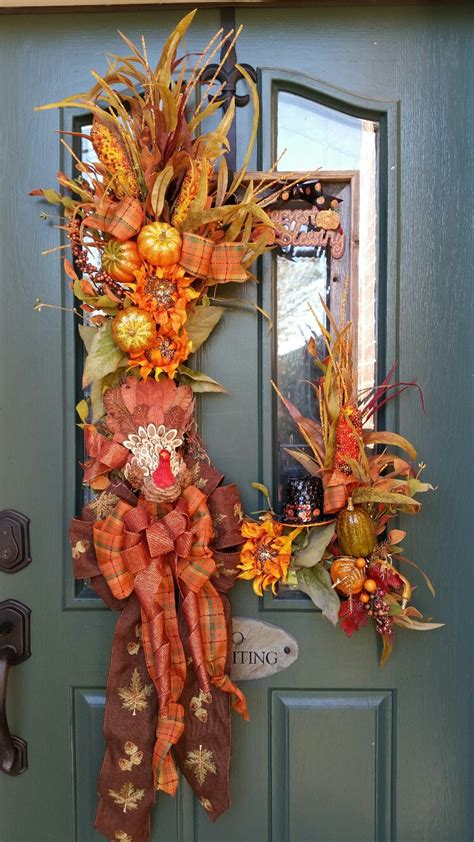 fall door decor 67 cute and inviting fall front door d 233 cor ideas digsdigs
