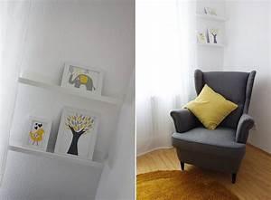 Kinderzimmer Weiß Grau : unser sein kinderzimmer grau wei gelb ekulele familienleben rezepte mode kosmetik ~ Sanjose-hotels-ca.com Haus und Dekorationen