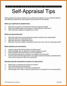 8 self appraisal examples appeal leter for Self performance appraisal sample letter