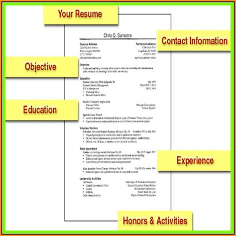 Resumes For Dummies by Resume For Dummies Resume Resume Exles Djvajxe2jk