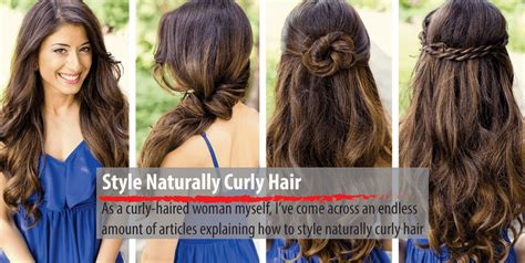 naturally wavy hair how to style a complete tutorial on how to style naturally curly hair 7839