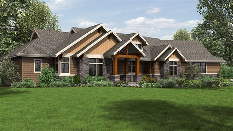 craftsman house plan   westfall  sqft  beds
