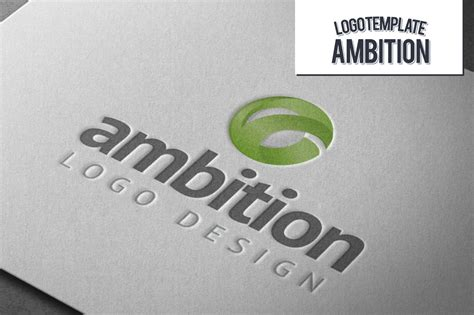 Ambition Logo ~ Logo Templates ~ Creative Market