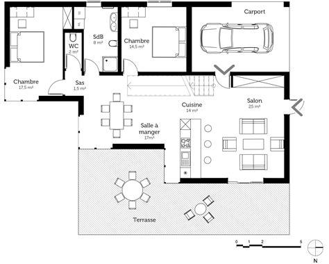 escalier entre cuisine et salon merveilleux escalier entre cuisine et salon 12 plan au