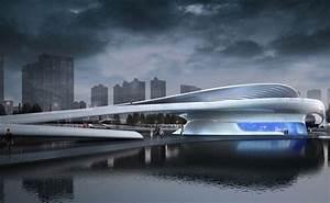 Wuxi Xidong Park Bridge By L U0026a Design Group