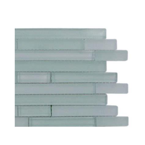home depot glass tile splashback tile temple tranquility glass tile 3 in x 6