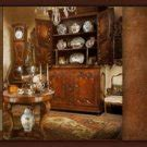 beechwood kitchen cabinets country parchment china cabinet display hutch 1565