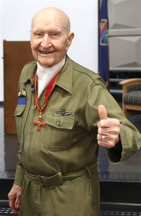 Candy Bomber Candy Bomber Now 94 Meets German Teen Who Found His