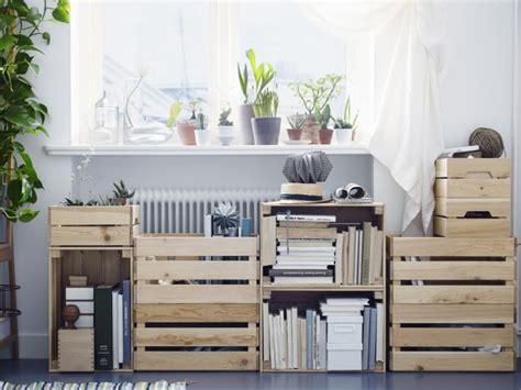 étagère à roulettes cuisine ikea hacking les caisses en bois knagglig joli place