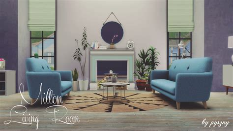 in the livingroom my sims 4 milton living room set by pyszny