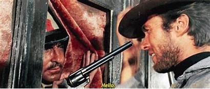 Dollars Fistful Eastwood Clint Western Spaghetti Gifs