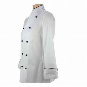 Vetement de cuisine pour femme grand chef lisavet for Vetement cuisine