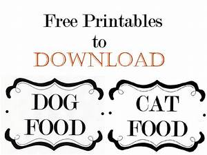 DIY: Pet Food Storage Containers | In My Own Style