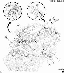 Saturn Vue Wiring Harness  Engine