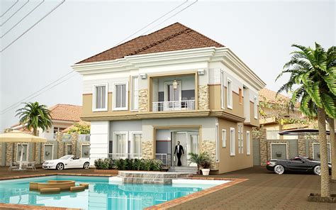 Exterior House Design In Nigeria