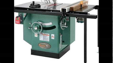 grizzly cabinet saw review grizzly g1023rlwx cabinet left tilting table saw review