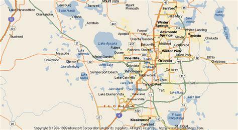 Map of Groveland