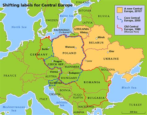 central europe  economist