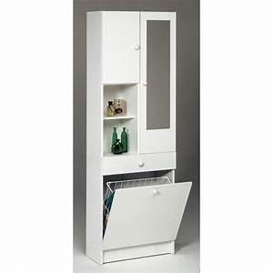 Bac A Linge Ikea : meuble salle bain avec panier ~ Teatrodelosmanantiales.com Idées de Décoration
