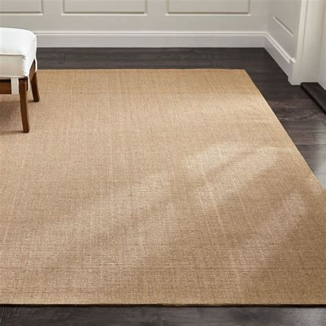 sisal almond rug crate  barrel
