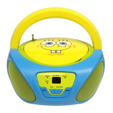 We are a musical gift store with an extraordinary inventory filled with musical treasures to delight all music lovers, musicians and their children and our. SpongeBob SquarePants CD Boombox with AM/FM Radio ...