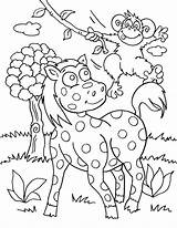 Safari Coloring Jungle Pages Animal Wild Animals Topsy Printable Colouring Tim Turvy Farm Drawing African Bestcoloringpagesforkids Adult Retriever Golden Dog sketch template