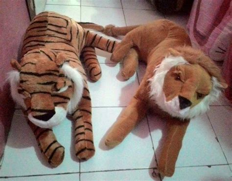 boneka stitch by dzakira dtz jual boneka singa harimau jumbo dzakira dtz