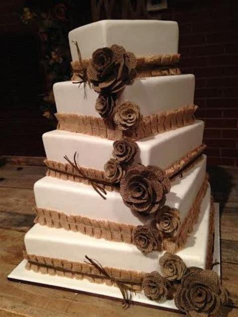 shabby chic wedding cake decorations 13 mix size burlap flowers cake topper rustic wedding decoration shabby chic wedding vintage